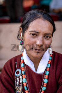 Young ethnic Indian woman
