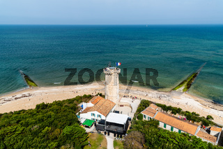 The lighthouse of the whales in the Island of Re