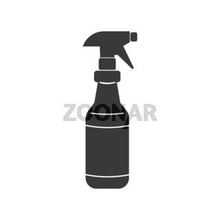 Spray Bottle Icon Vector