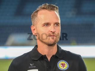 Cheftrainer Christian Flüthmann  ( Eintracht Braunschweig  DFB 3.Liga Saison 2019-20 )