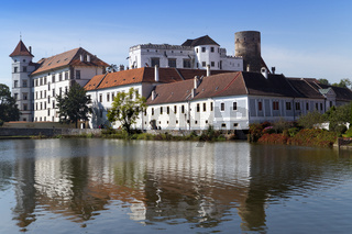Jindrichuv Hradec castle in South Bohemia