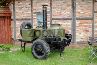 eine Gulaschkanone, Feldküche der Armee