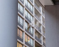 Fire at Hyatt Hotel Berlin