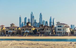 Öffentlicher Strand von Dubai