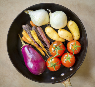 Fresh Roasting Vegetables
