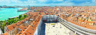 Panorama of Venice (top view)