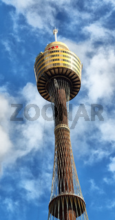 SYDNEY, AUSTRALIA - CIRCA AUGUST 2017 : the view of the tower eye in the sky