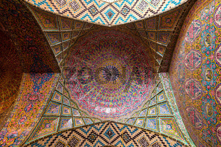 Nasir al-Mulk Mosque, the Pink Mosque.
