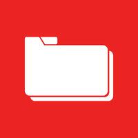 Ordner und Hintergrund - Folder and background