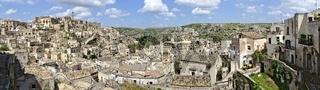 Panorama der Altstadt von Matera