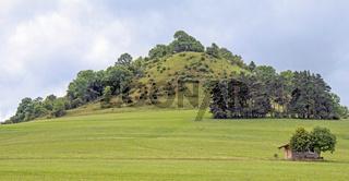 Hohenkarpfen bei Hausen ob Verena, Baarhochebene, Naturschutzgebiet