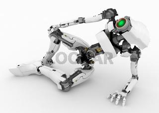 Slim Robot, Half-Lying