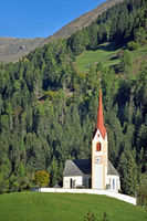 Parish church of Winnebach in South Tyrol