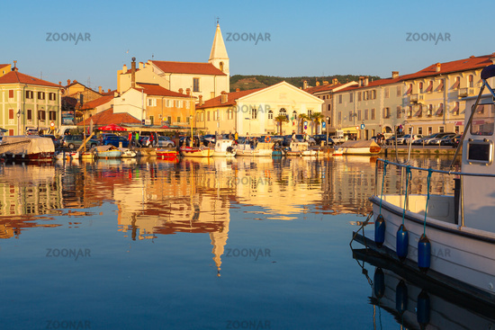Beautiful Slovenian coast city Izola