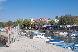 Urlaubsort Njivice auf der Insel Krk,Adria,Mittelmeer,Kroatien