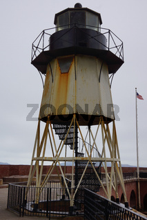 light tower in fort point san francisco