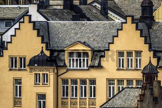 Art Nouveau Buildings Alesund Norway