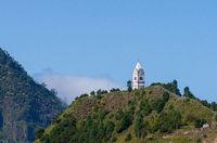 White church tower