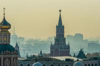 Moscow Kremlin Spasskaya (Savior's) tower