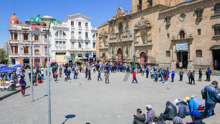 La Paz Bolivia greater square San Francisco