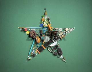Krimskrams Weihnachts Stern