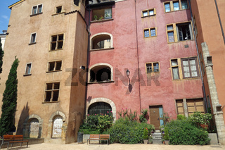 Traboules in Lyon in Frankreich