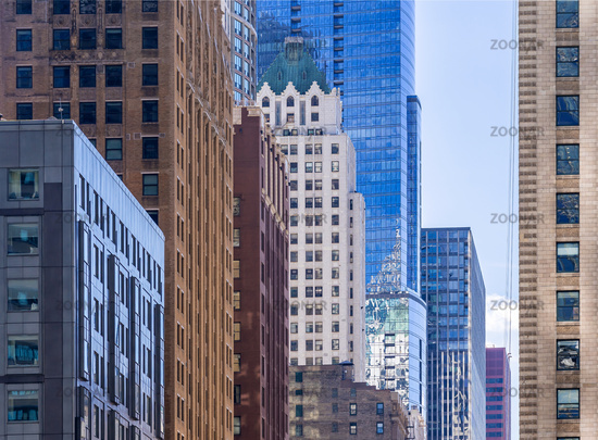 Chicago building skyline