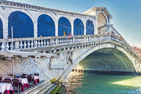 Rialto Bridge Venice Italy