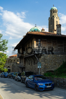 One of the streets of the old city. Veliko Tarnovo. Bulgaria.
