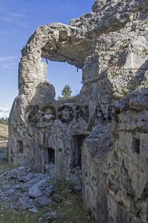 Befestigungsruine Ex Forte di Busa Verle