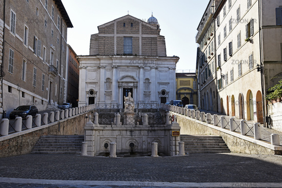 Chiesa di San Domenico, church, Piazza del Plebiscito, square, Ancona, Italy, Europe