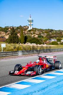 Scuderia Ferrari F1,  Sebastian Vettel, 2015