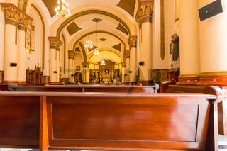 interior of church san jose of poblado medellin