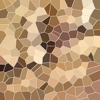 abstract mosaic pattern with sand and brown color tones