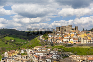 The Castle of Melfi in Basilicata, Italy