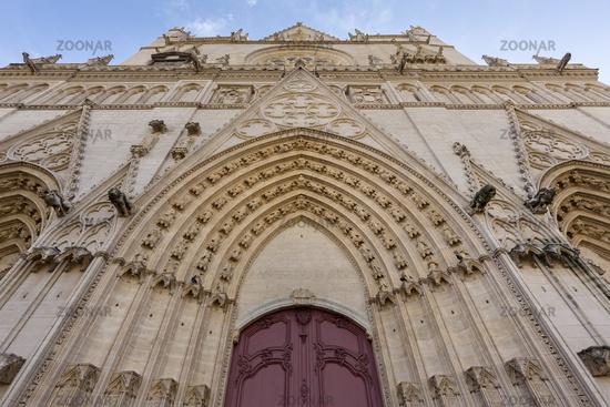 Kathedrale Saint-Jean, Lyon, Frankreich