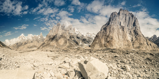 Trango Towers in Karakoram Mountains