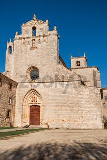 San Pedro de Cardena monastery in Burgos, Castilla y Leon, Spain.