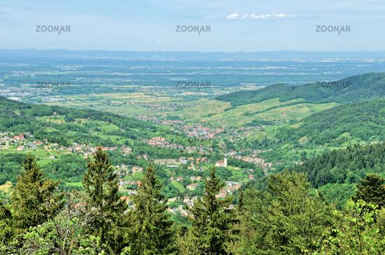 Bühlertal Black Forest Germany,