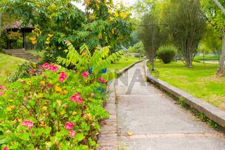 Colombia Tabio public gardens