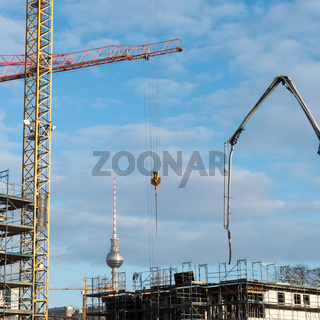The construction sites of the capital Berlin