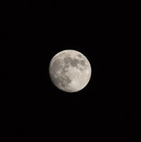Waxing Gibbous Moon Square Image