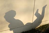 Shadow in Prague