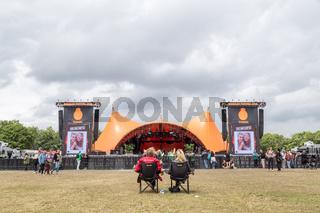 Orange stage at Roskilde Festival 2016