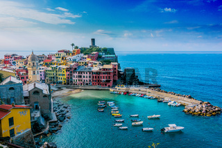 Picturesque town of Vernazza