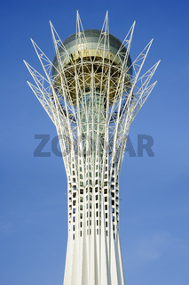 Bayterek, monument and observation tower, Astana, the capital of Kazakhstan. A popular tourist attraction and symbol of the city