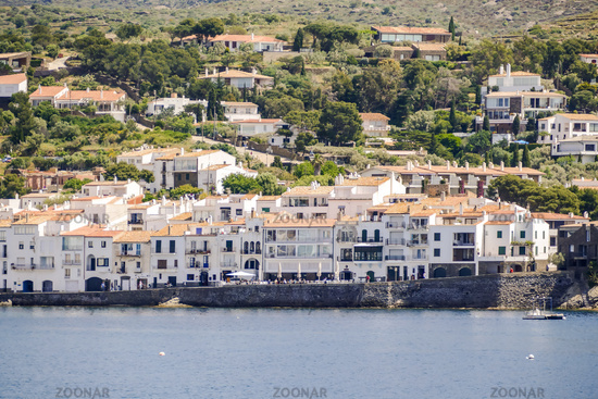 Medieval Village Cadaques on Costa Brava Catalonia Spain europe