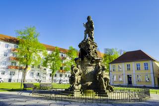Denkmal fueŸr den Grossen KurfueŸrsten, Rathenow, Brandenburg, Deutschland