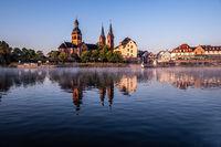 Einhard Basilika im Morgenlicht