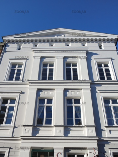 Old town architecture in Wismar
